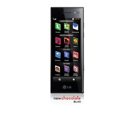 lg electronics mobile lg chocolate bl40 mobile phone lg electronics uk