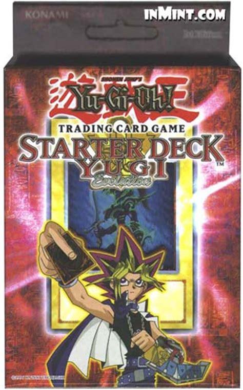 yugioh evolution starter deck inmint yugioh yugi evolution starter deck 50 cards