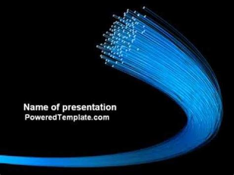 network templates for powerpoint free download optical fibre network powerpoint template by
