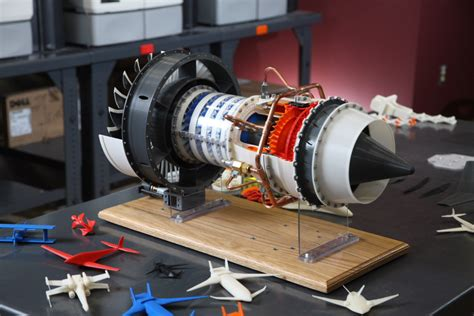 Handmade Jet Engine - want a flying drone these students 3d printed their own