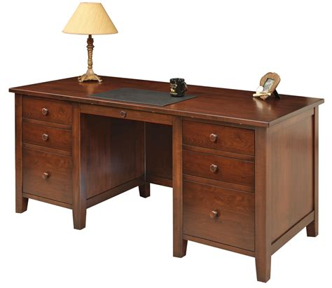 Desk Furniture by Manhattan Desk Amish Furniture Designed