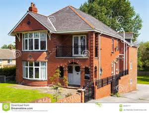 Cottage Home Plan english house with garden royalty free stock photography