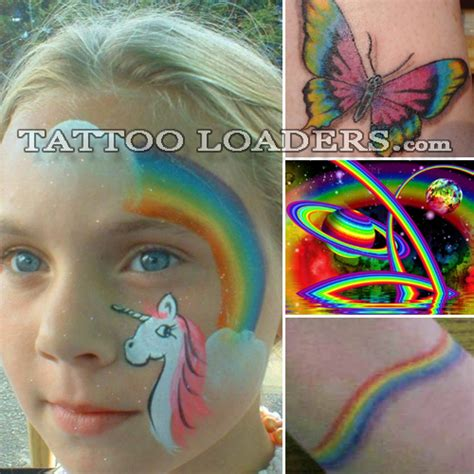 rainbow brite tattoo designs rainbow bright tattoos loaders designs