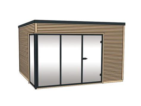 Gartenhaus Glasfront by Weka Gartenhaus Cubilis Grundriss 380 X 300 St 228 Rke 45