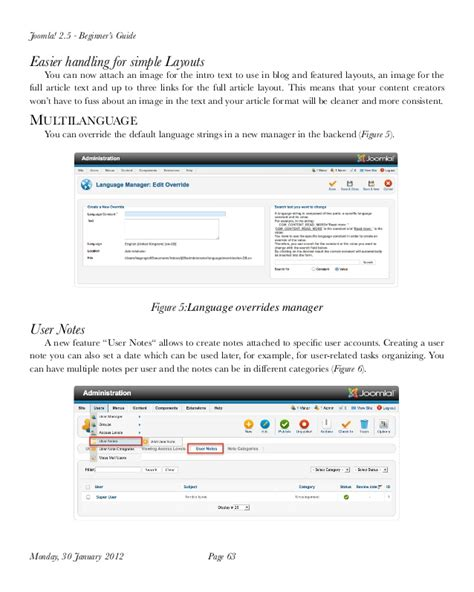 Tutorial Joomla Español Pdf | joomla 2 5 tutorial for beginner pdf