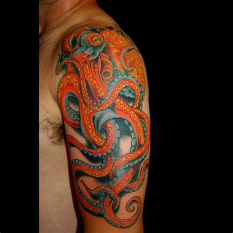 best tattoos ever seen octopus tentacles tattoo