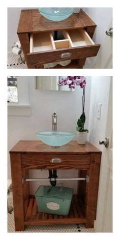 do it yourself bathroom vanity reclaimed wood farmhouse vanity do it yourself home projects from ana white