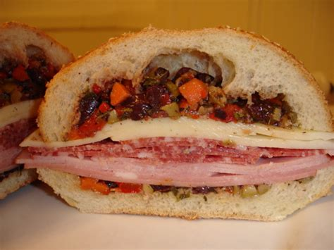 Wich Of The Week Muffaletta by Wich Of The Week Muffuletta Popsugar Food