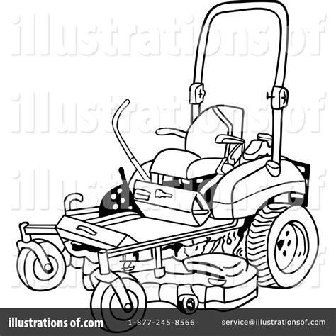 Coloring Pages Lawn Mower