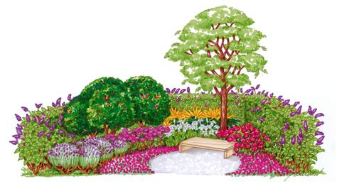 piccole aiuole fiorite giardini