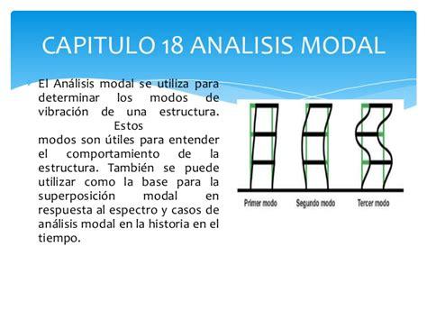 oscilacion de un edificio capitulo 18 analisis modal