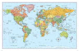 World Map Picture by Rand Mcnally M Series World Wall Map Maps Com