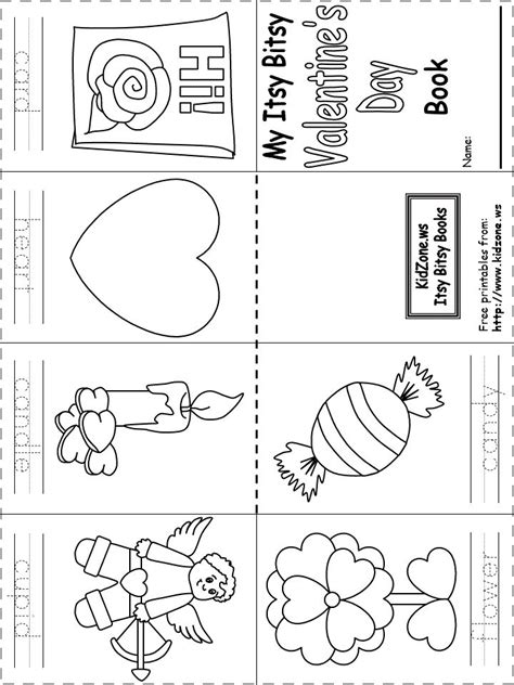 free printable preschool valentine worksheets printable itsy bitsy book valentine s day http www