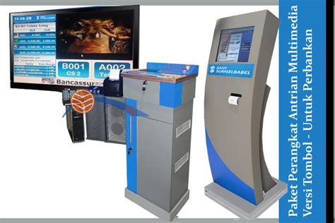 Printer Mesin Antrian jual mesin antrian multimedia 3 tombol pemanggil harga murah sidoarjo oleh toko printer id card