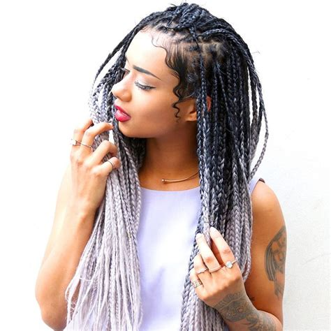 grey hair braid extensions 36 best beauty braided hairstyles images on pinterest