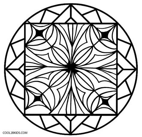 printable kaleidoscope coloring pages for adults simple kaleidoscope coloring pages coloring pages