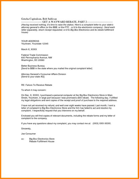 Business Letter Format Exle With Enclosure 8 Cc Letter Format Sle Day Care Resume