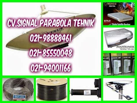 Pemasangan Parabola Venus Bergaransi jasa pemasangan parabola digital venus usb hdmi mpeg4