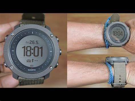 suunto traverse alpha foliage unboxing youtube
