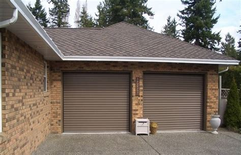 Residential Roll Up Garage Doors by Residential Roll Up Garage Doors Brown Home Interiors