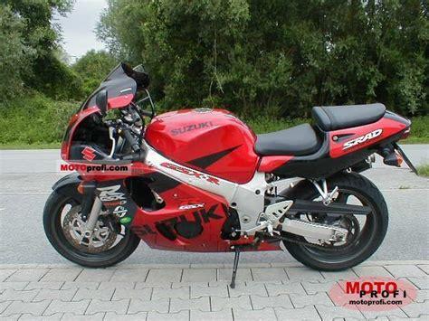 98 Suzuki Gsxr 600 Suzuki Gsx R 600 1998 Specs And Photos