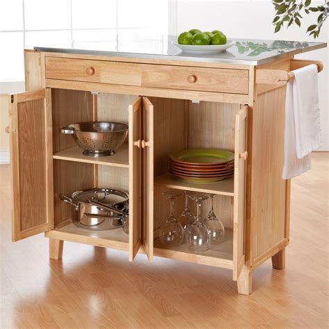 belham living portable kitchen island with optional