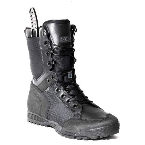 boots with knife pocket 5 11 tactical 8 quot recon combat boot w knife pocket