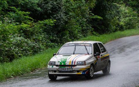 renault rally 2016 renault clio i auf dem rallye sprint juni 2016