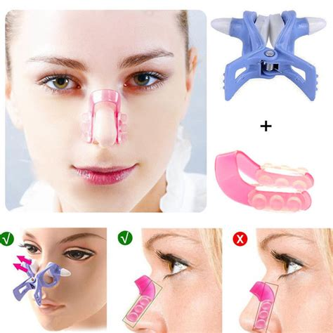 nose shaper before and after beauty clip clipper set nose up shaping shaper lifting