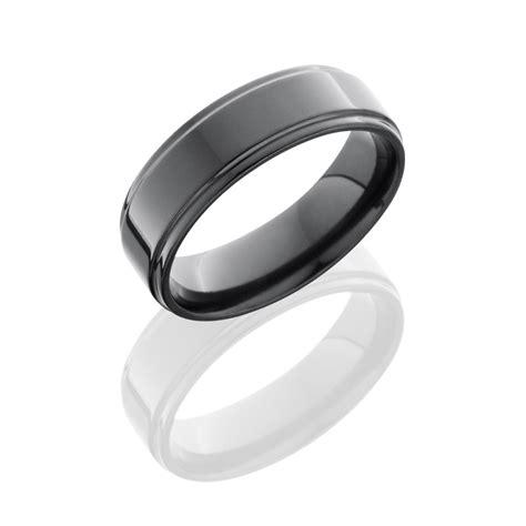 lashbrook rings zirconium mens classic wedding band