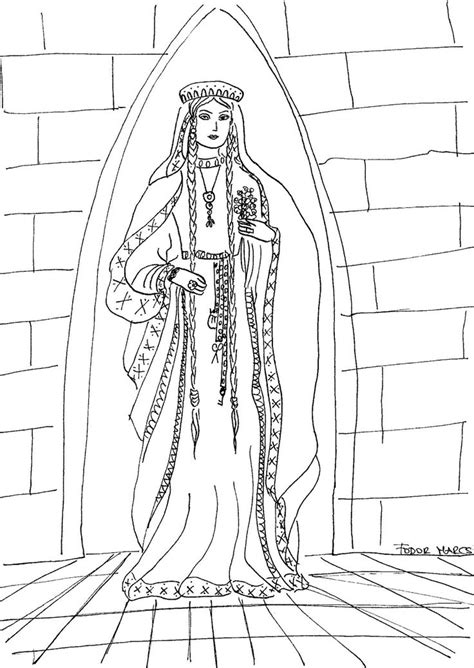 medieval princess coloring pages 106 best images about history coloring page on pinterest