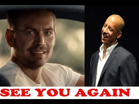 fast and furious when i see you again vin diesel sings quot see you again quot tribute to paul walker