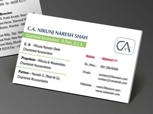 chartered accountant business card template business card printing upload or use free business