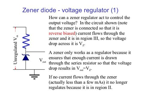 zener diode for voltage regulation anery whats diode