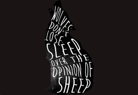 design by humans opinion wolves don t lose sleep over the opinion of sheep t shirt
