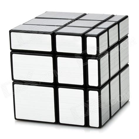 Irregular Iq Cube From Brando by Irregular Mirror 3 3 3 Magic Iq Cube Black Silver