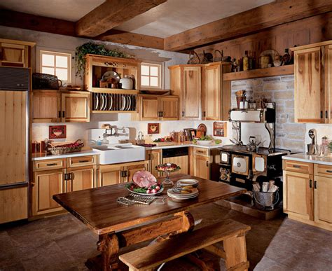 Hickory Kitchen Cabinet Pictures And Ideas | hickory kitchen cabinets ideas kitchenidease com