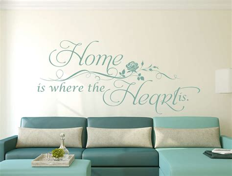 Tree Of Life Wall Sticker home is where the heart is wall decal sticker