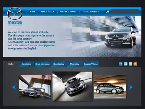 mazda website mazda website by nancysaleh on deviantart