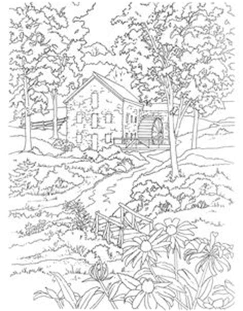 coloring books country cottage backyard gardens 2 40 grayscale coloring pages of country cottages cottages gardens flowers and more books 1000 images about stempels gebouwen landschappen on