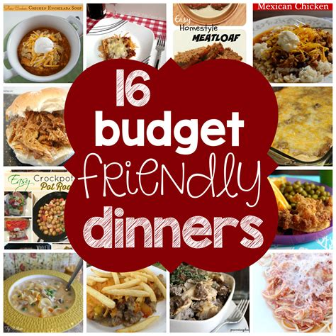 budget dinner recipes 16 budget friendly dinners to make planning inspired