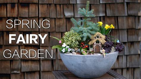 spring fairy garden youtube