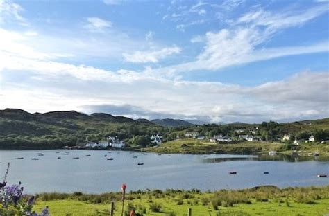 Ceomara Cottages by Ceomara Highland Cottages Badachro Gairloch View From
