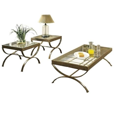 bronze table l set steve silver company emerson 3 coffee and end table
