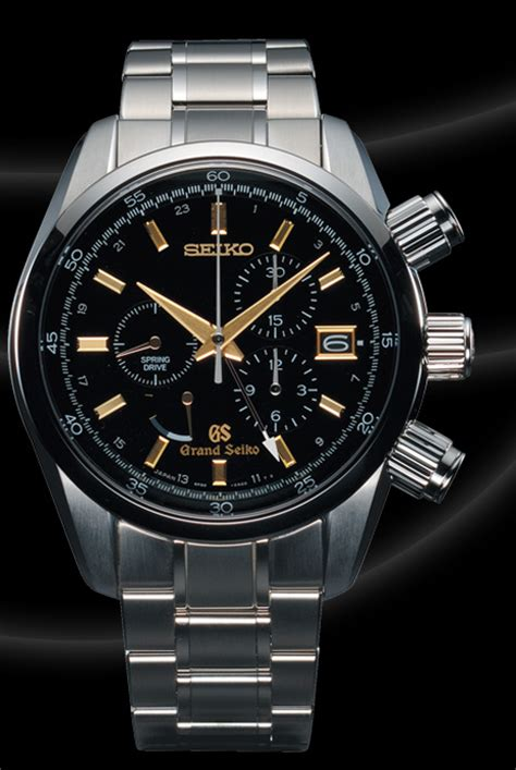 automatic springs grand grand seiko drive chronograph review