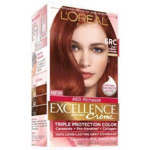 loreal hair color reviews l oreal excellence creme 6rc hair color consumer