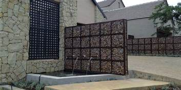 Home Design And Decor Magazine gabion walls what they are and how to use them in your
