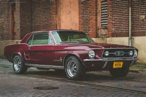 cherry 67 mustang coupe