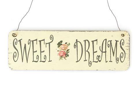 schlafzimmer bunt shabby vintage schild t 252 rschild sweet dreams bunt