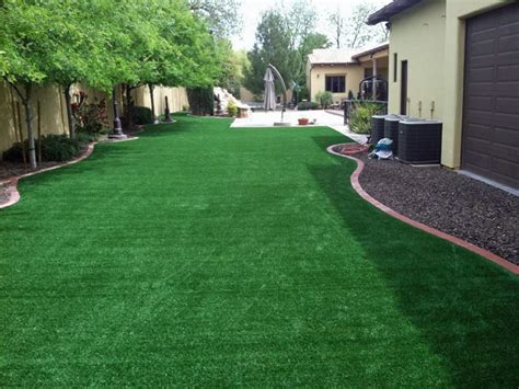 fake grass backyard installing artificial grass spring texas rooftop